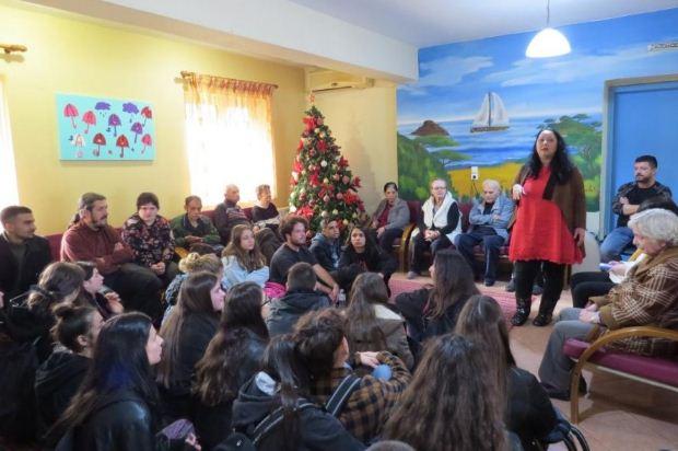 Επίσκεψη του Μουσικού Σχολείου Άρτας στο οικοτροφείο «Αίολος»