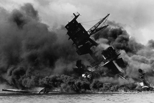 Η ιαπωνική επίθεση στο Περλ Χάρμπορ, 7 Δεκεμβρίου 1941