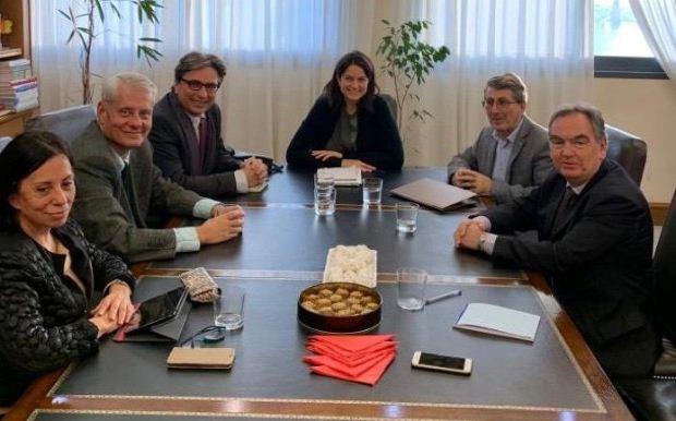 Συνάντηση της Υπουργού Παιδείας με την ηγεσία της ΑΔΙΠ