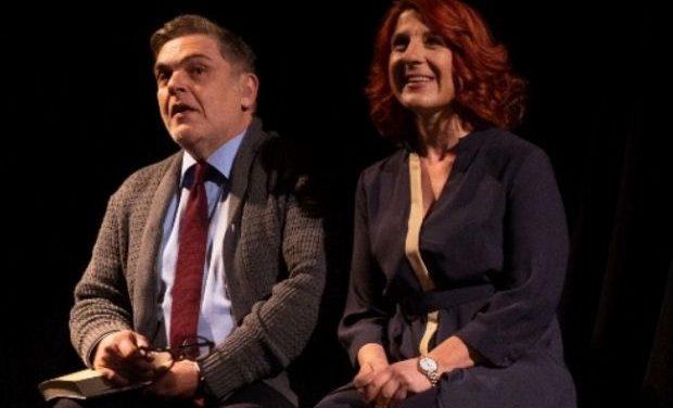 Οι «Σκηνές από ένα γάμο» με τους Α. Λουδάρο και Π. Χαρέλα για δύο παραστάσεις στο Θέατρο Σοφούλη
