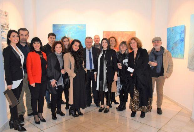 Εγκαίνια της ομαδικής εικαστικής έκθεσης «Νίκος Καββαδίας – ένα ταξίδι Τέχνης με αφετηρία τον Πειραιά»