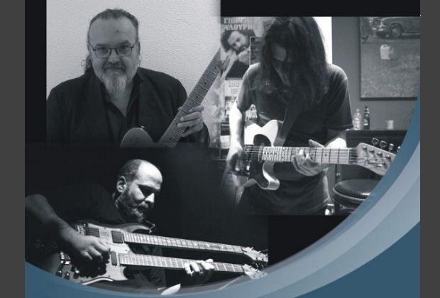 «Guitar Summit» – Ηλίας Ζάικος, Δημήτρης Λάππας και Κώστας Μαγγίνας στη Ζώγια