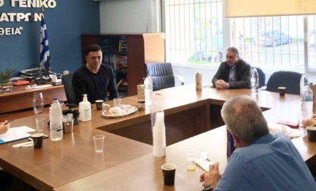Επίσκεψη Κικίλια στο ΠΓΝ Πατρών