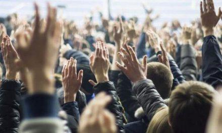 Παράσταση διαμαρτυρίας στην ΠΔΕ Κεντρικής Μακεδονίας για τα ολιγομελή