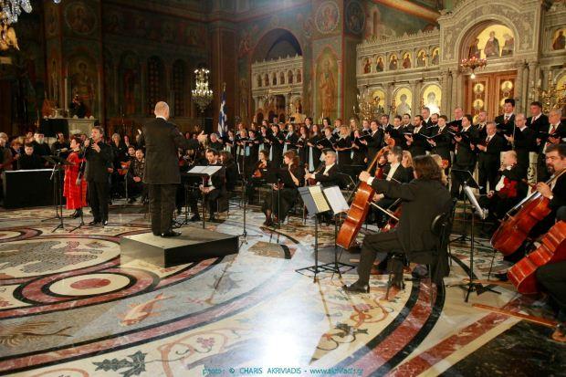 Megaron Online: Συναυλία με τον Γιώργο Νταλάρα στον Ιερό Ναό του Αγίου Παντελεήμονος Αχαρνών