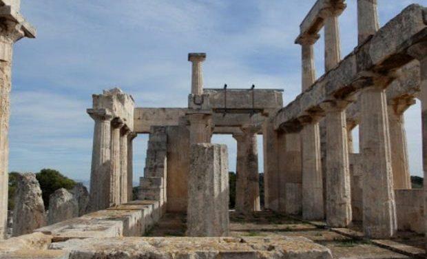 Σύσκεψη ΥΠΠΟΑ-Περιφέρειας Δ. Αττικής για την ανάδειξη των ναών Αφαίας και Ελλανίου Διός