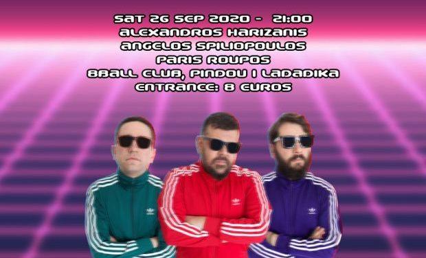 The Kontosouvli Warriors Comedy Show! – 8Ball Club Thessaloniki, 26 Σεπτεμβρίου