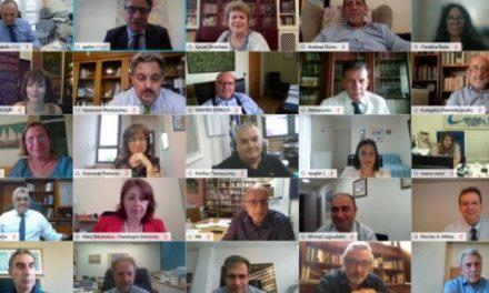 Τηλεδιάσκεψη του ΓΓ Ανώτατης Εκπαίδευσης με τους πρυτάνεις των Πανεπιστημίων