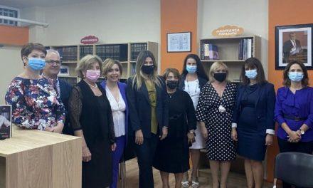 Τη Ρόδο και τη Χάλκη επισκέφτηκε η Υφυπουργός Παιδείας Σοφία Ζαχαράκη