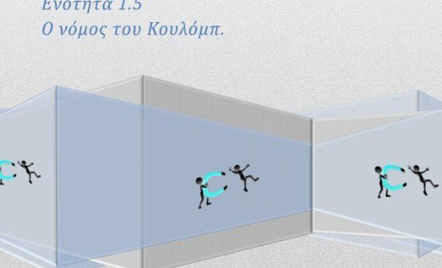 Φυσική Γ' Γυμνασίου – Σημειώσεις / Θεωρία: Ενότητα 1.5, ο νόμος του Κουλόμπ