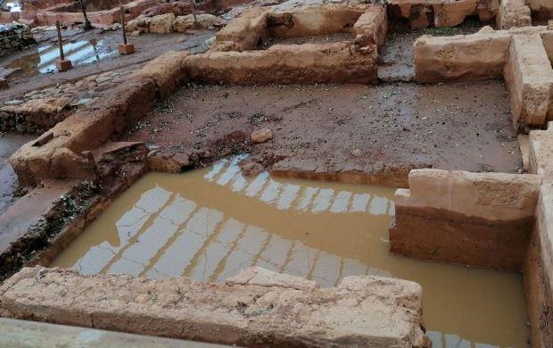 Εκτεταμένες πλημμύρες στον αρχαιολογικό χώρο στα Μάλια