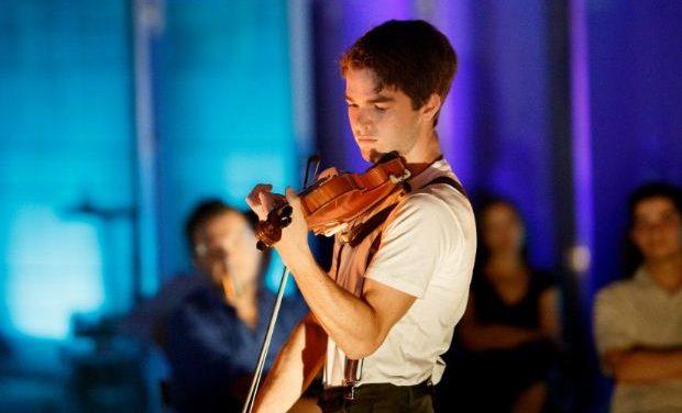 Ο 16χρονος βιολονίστας Χριστόφορος Πετρίδης 28/3 στη σκηνή του Μεγάρου Μουσικής Αθηνών