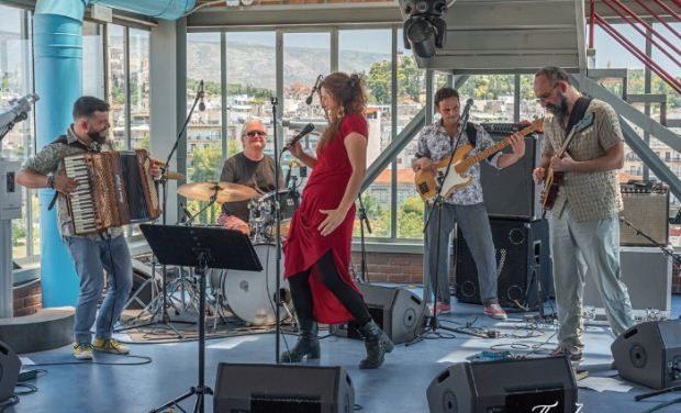 Αγγελική Τουμπανάκη «Crossovers 5tet» – Online streaming από το Half Note jazz Club