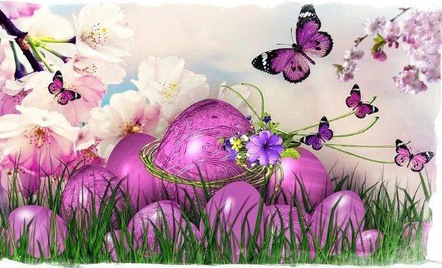 Καλή Ανάσταση, καλό Πάσχα με υγεία, αγάπη και αισιοδοξία!