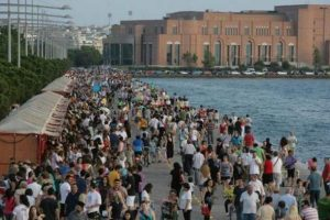 Το 35ο Πανελλήνιο Φεστιβάλ Βιβλίου Θεσσαλονίκης άνοιξε τις πύλες του