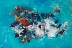 Ατομική έκθεση ζωγραφικής της Μαρίας Μπαχά, «Celestial Views/Ουράνιες Απ-Όψεις»