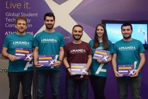 Στον παγκόσμιο τελικό του διαγωνισμού «MicrosoftImagineCup 2016» η ομάδα AMANDA του ΑΠΘ