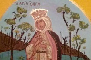 Αγιογραφικό αφιέρωμα της Μαριλένας Φωκά στο πολιτιστικό κέντρο «Φλοίσβος» του Δήμου Π. Φαλήρου