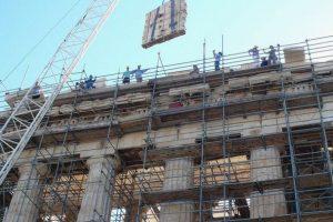 Νέα σειρά εργασιών αναστήλωσης και συντήρησης στα μνημεία της Ακρόπολης