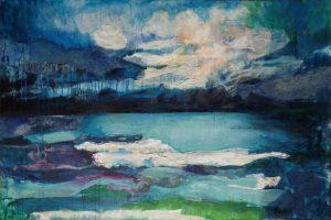 """Έως τις 24 Μαρτίου η ατομική έκθεση ζωγραφικής της Μάγδας Αποστόλου """"Τοπία του Ασυνείδητου"""""""