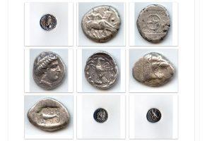 Επαναπατρίστηκαν πέντε σπάνια αρχαία ελληνικά νομίσματα
