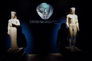 «Μια σταλιά παρόν: η αρχαιολογική πράξη στη νεοελληνική ποίηση» διάλεξη στο Αμφιθέατρο του Ε.Α.Μ.