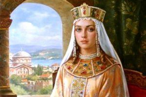 Γιολάντα η Μομφερρατική (αυτοκράτειρα Ειρήνη η Παλαιολογίνα), η Ειρήνη της Δράμας