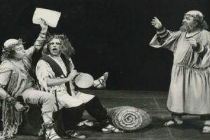 «Ο Αριστοφάνης παρουσιάζει τον Σωκράτη...»  της Κατερίνας Φωτιάδου