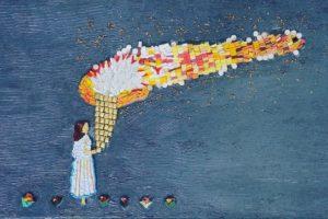 Πολιτιστικός Τουρισμός στη Σαντορίνη - Η Ομαδική εικαστική έκθεση «Stroggyli-128» στην Aqua Gallery
