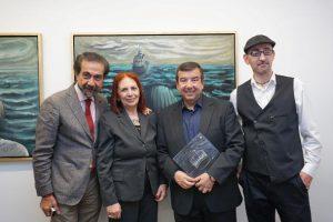 Εγκαίνια της ατομικής έκθεσης ζωγραφικής του Σπύρου Λύτρα με τίτλο: Η ΜΑΓΕΙΑ ΤΗΣ ΜΝΗΜΗΣ