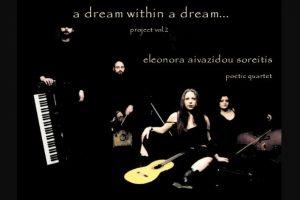 Eleonora Aivazidou Soreitis poetic quartet Live Σάββατο 2 Μαρτίου στη Ζώγια