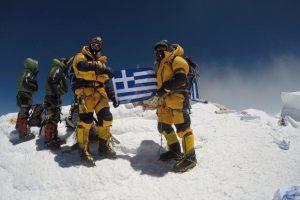 Το ντοκιμαντέρ του Αντώνη Συκάρη «Έλληνες στην κορυφή του Έβερεστ» στη Δροσιά