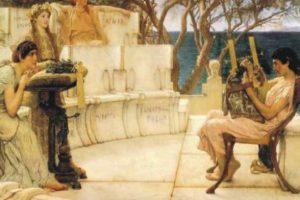 Ο αρχαιοελληνικός γραπτός λόγος και ο Έρωτας μέσα σε αυτόν