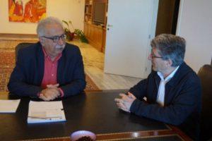 Συνάντηση του Υπ. Παιδειας Κώστα Γαβρόγλου με τον Πρόεδρο της ΑΔΙΠ Παντελή Κυπριανό