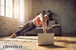 Το γυμναστήριο στο σπίτι απαιτεί ισχυρό WiFi!