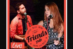 Γιώργος Γελαράκης + Savina Live Παρασκευή 5 Απριλίου @Friends Pub, Βόλοs