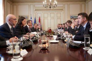 Η Νίκη Κεραμέως στο 3ο Ανώτατο Συμβούλιο Συνεργασίας Ελλάδας - Σερβίας