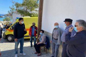 Επίσκεψη Κικίλια - Θεμιστοκλέους στα εμβολιαστικά κέντρα σε Νάξο, Ηρακλειά και Σχοινούσα