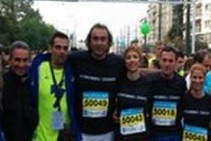 Η ομάδα του «Κοινωνικού Σχολείου» στον 32ο Μαραθώνιο Αθηνών