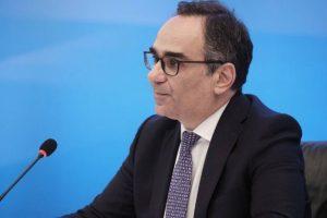 Ο Αναπληρωτής Υπουργός Υγείας Β. Κοντοζαμάνης για την έναρξη διάθεσης των self-test