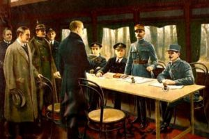 Η λήξη του Α΄ Παγκοσμίου Πολέμου, 11 Νοεμβρίου 1918