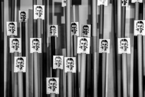 Θεσσαλονίκη: Εγκαίνια έκθεσης του Μανώλη Μπαμπούση «Προσοχή εκτελούνται έργα» στο Αλατζά Ιμαρέτ