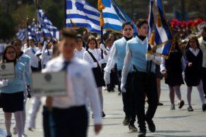 Δηλώσεις του Υπουργού Παιδείας μετά το τέλος της μαθητικής παρέλασης στην Αθήνα