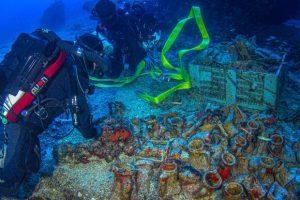 Υποβρύχια αρχαιολογική έρευνα στο ναυάγιο των Αντικυθήρων - Νέα ευρήματα