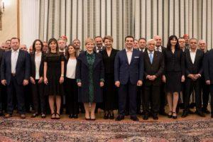 Ορκίστηκαν τα νέα μέλη της Κυβέρνησης - Αναλυτικά η σύνθεση
