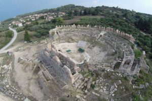 MMA - Πολιτιστική διαδρομή των αρχαίων θεάτρων της Ηπείρου: Ρωμαϊκό θέατρο Νικόπολης