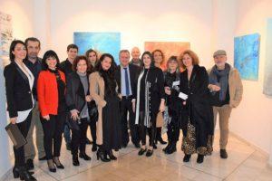 Εγκαίνια της ομαδικής εικαστικής έκθεσης «Νίκος Καββαδίας - ένα ταξίδι Τέχνης με αφετηρία τον Πειραιά»