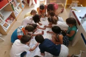 Δράσεις για παιδιά στην Π. Βιβλιοθήκη Χαριλάου, Μάρτιος 2015