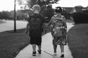 Πρώτη μέρα στο σχολείο…