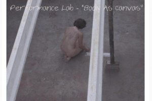"""BODY AS CANVAS"" - Online performance lab με τη Ραφίκα Σαουίς"